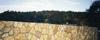 Csolnok - ürömi laposkőből készült kerítésburkolat
