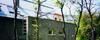 Budai társasház - kerítésburkolat, dunabogdányi kő