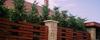 Telki, kerítés - ürömi mediterrán kő, süttői fedlap