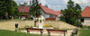 Közpark, Budaörs - ürömi és süttői kő