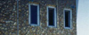 Német iskola - csobánkai kő - falburkolata