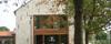 Martonvásár, polgármesteri hivatal - sóskúti kő - terméskő falburkolat